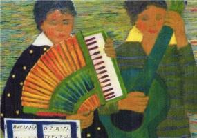Complessino - Olio su tela 60x80 Anno 2008 Coll. Privata