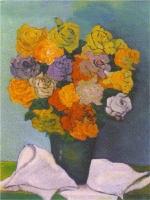 Rose - Olio su tela 60x70 Anno 2000 Coll. Privata